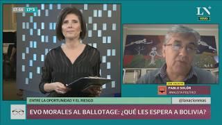 Evo Morales, al ballotage: ¿oportunidad o riesgo para Bolivia?
