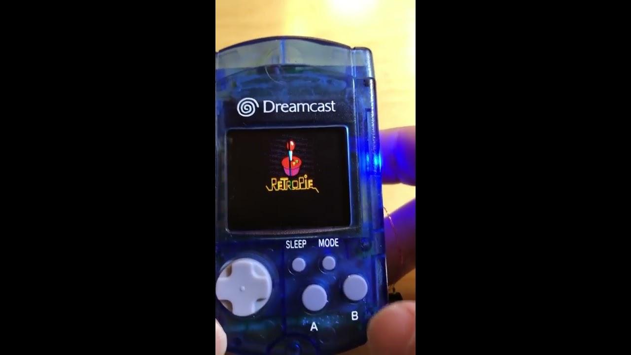 RetroPie in a Dreamcast VMU! - RetroPie Forum