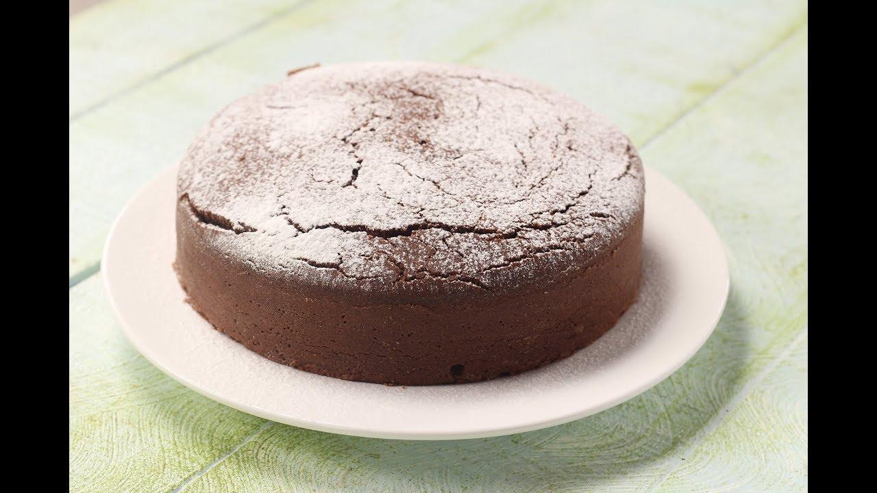 Eggless Chocolate Cake Sanjeev Kapoor Khazana Youtube
