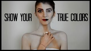 Show your True Colors #GreekFaceAwards 2017 Entry   katerinaop22