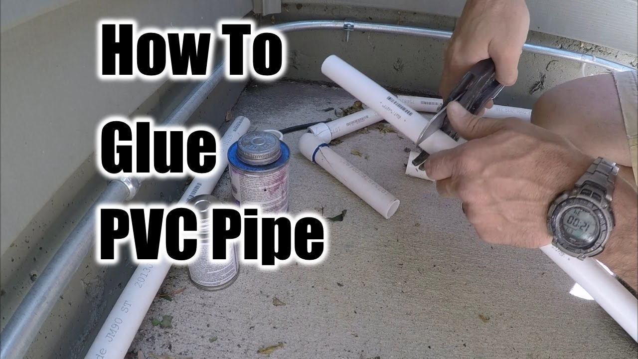 Attach Pvc Pipe To Wood