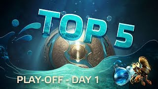 TOP5 Highlights TI7 Play-off - Day 1