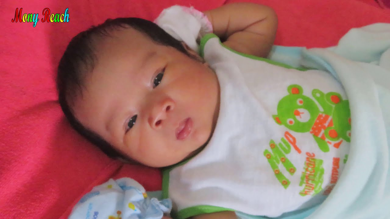 Mony Reach Cute Baby Video With Relaxing Music
