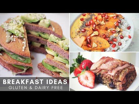 Healthy Breakfast Recipe Ideas   Part 3  (Gluten Free / Dairy Free)