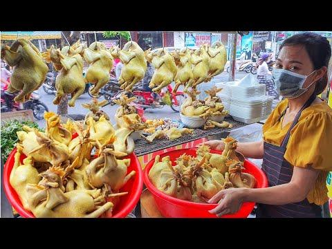 Gà Ta Nam Định 250K   Chủ Quán Chia Sẻ Bí Quyết Luộc Gà Da Giòn Vàng Đẹp
