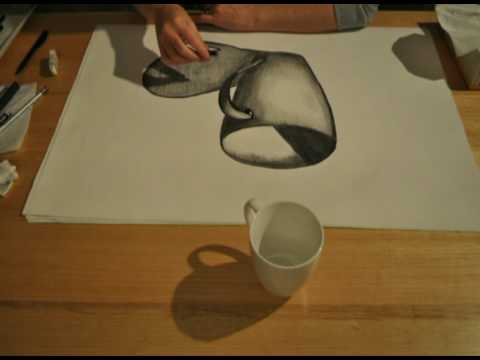 Sketch of a Cup - YouTube