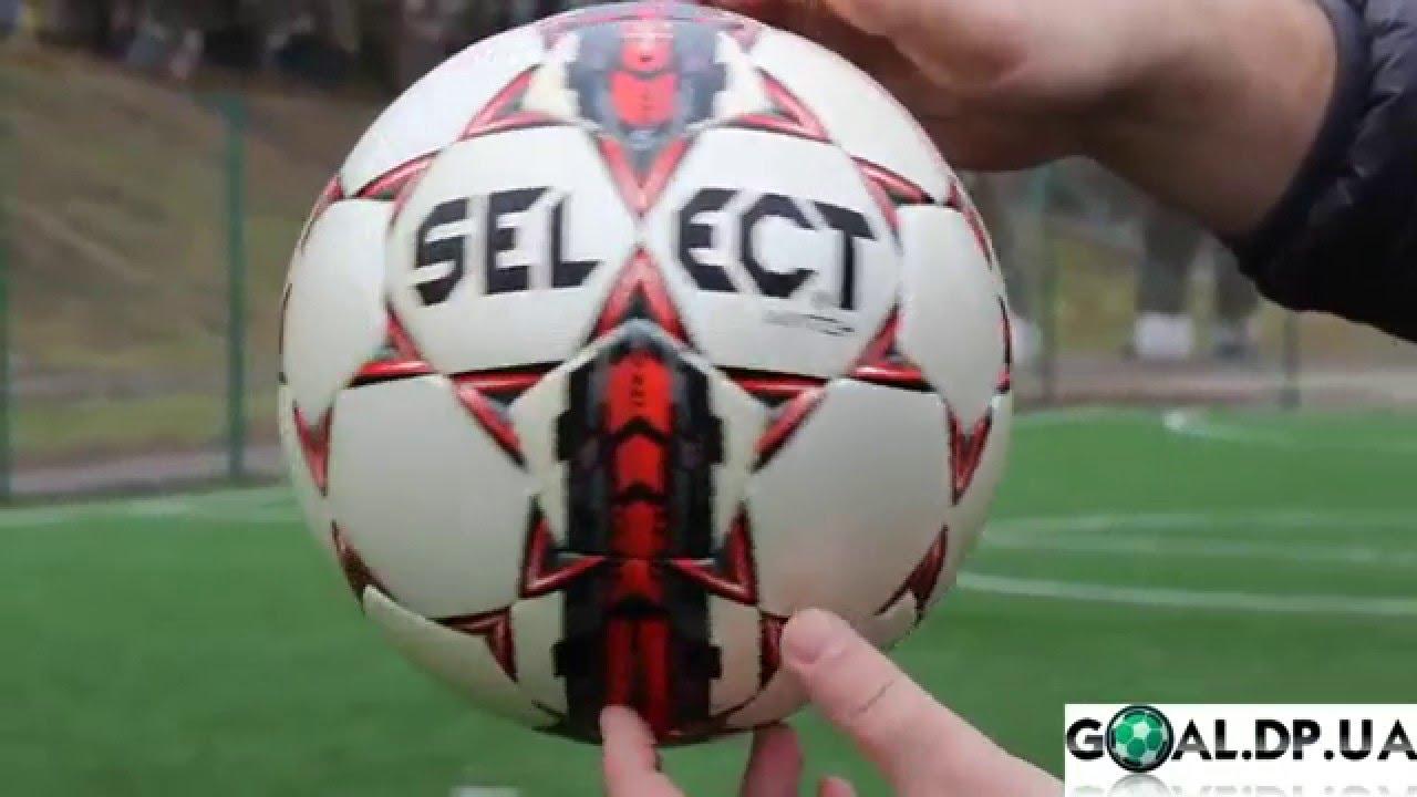 Мяч футбольный Select Team NEW 2012 - YouTube