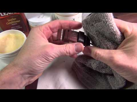 How to: Clean and condition your custom watch strap.