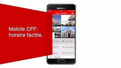 Mobile CFF: horaire tactile.