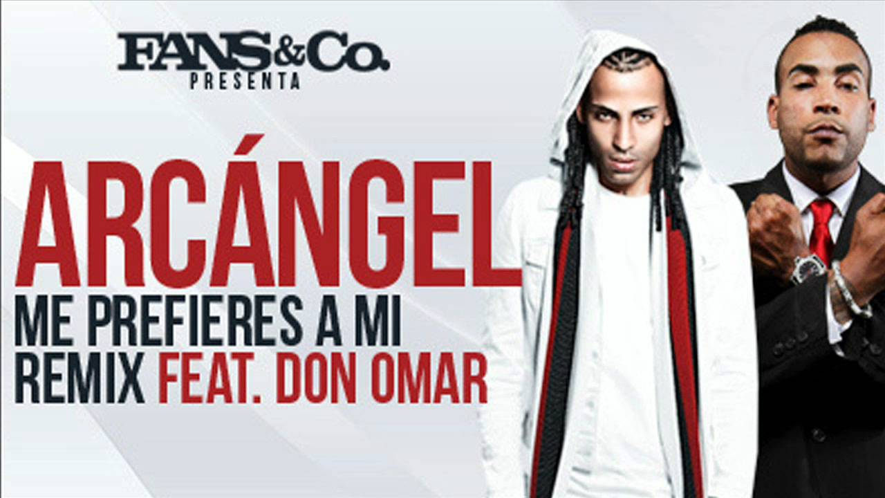 Arcangel ft Don Omar - Me Prefieres a Mi Remix REGGAETON 2012