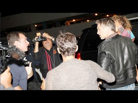 Halle Berry & Olivier Martinez's FIGHT with PAPARAZZI
