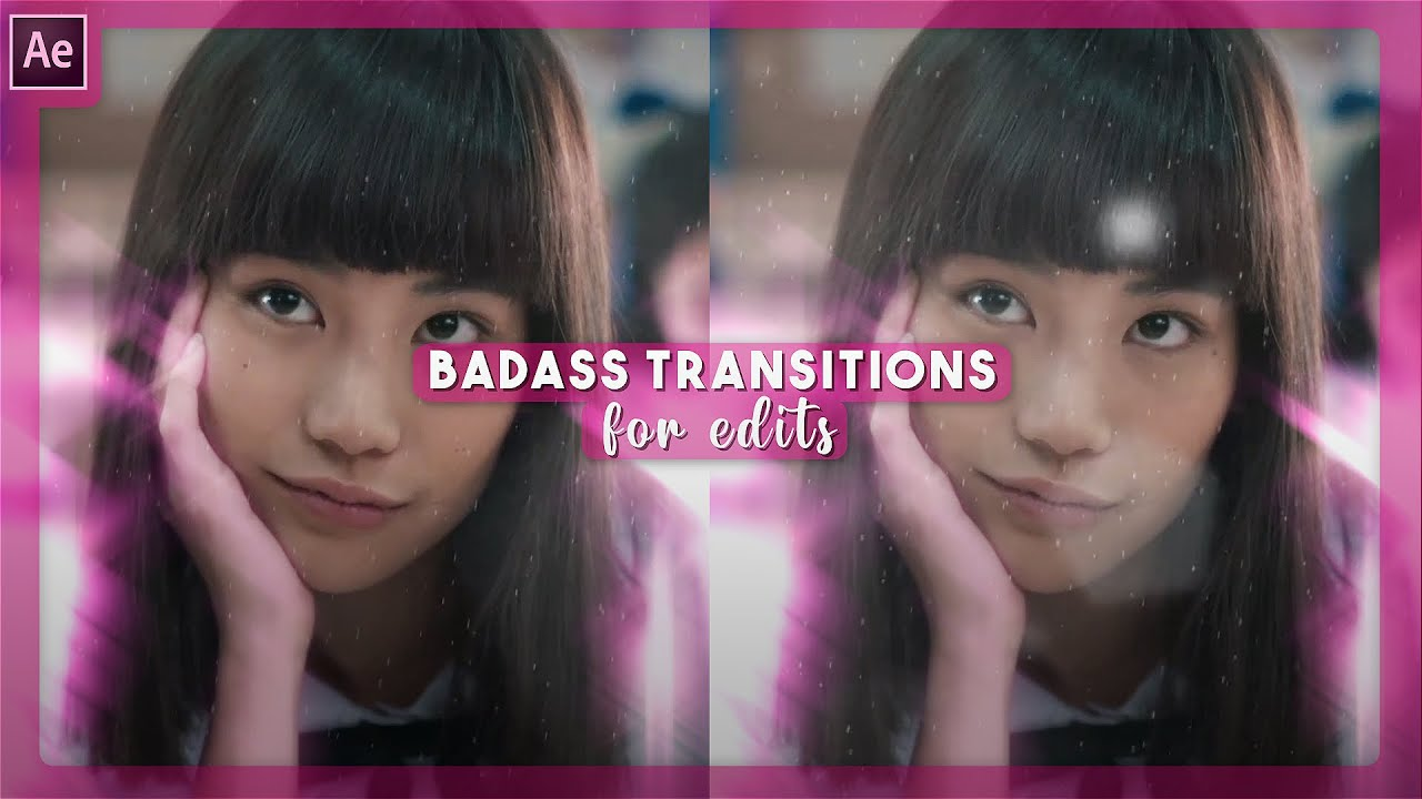 baddie style transitions for edits   after effects tutorial