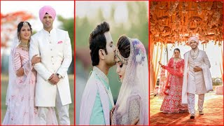 This Celebrity Couples Who Got Married During The Second wave Of COVID 19 ||