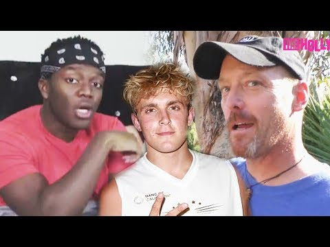Thumbnail: Jake Paul's DAD YELLS at HATER Who PIED Team 10! KSI Got Tricked into DISS?