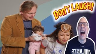 TRY NOT TO LAUGH CHALLENGE #10 w/ GUS JOHNSON REACTION