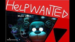 "FNAF VR SONG ""Help wanted"" | Korat Red Music"