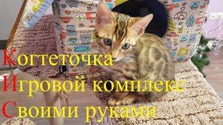 Когтеточка - игровой комплекс для кошки