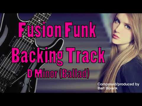 Fusion Funk Backing Track D Minor Ballad The love Beat