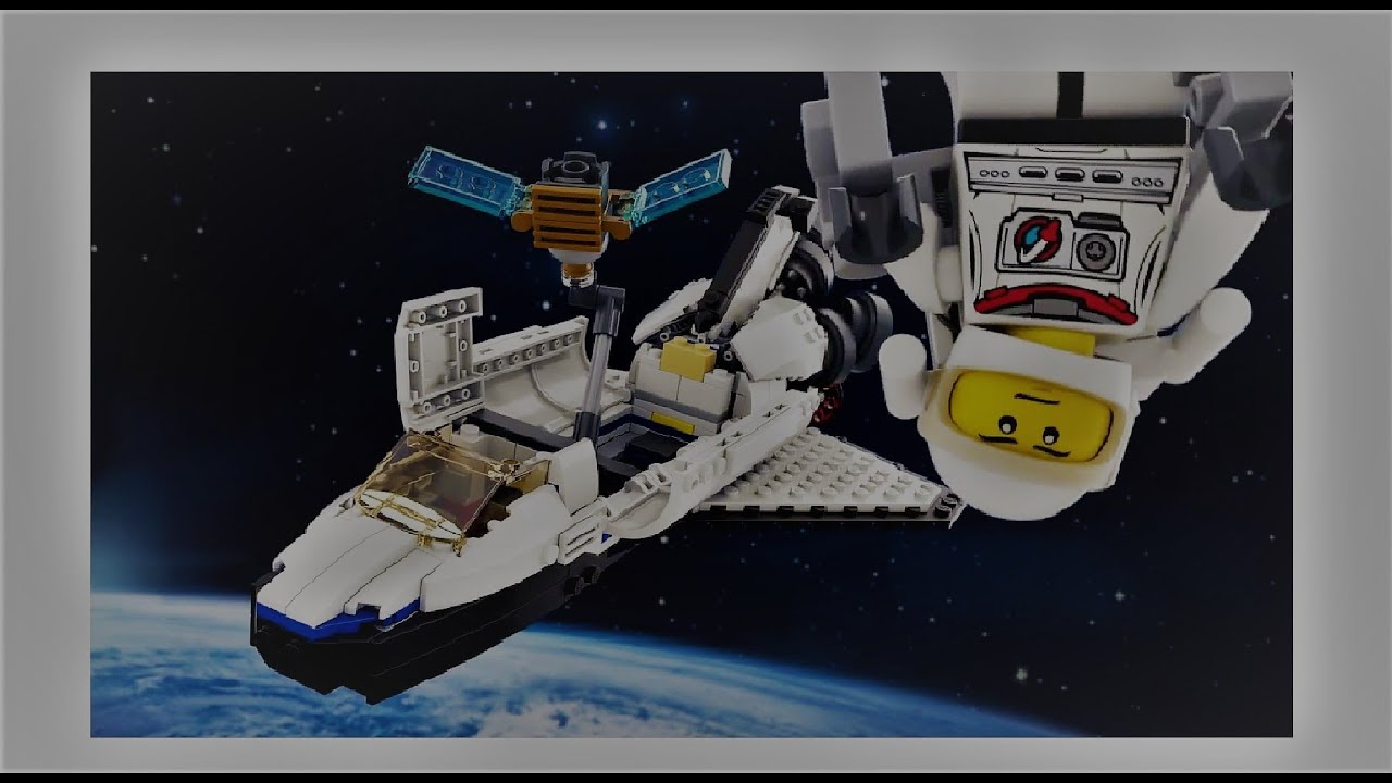 lego space shuttle speed build - photo #13