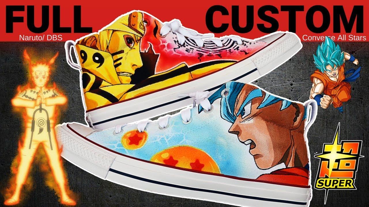 Dragon Ball Super DBZ Custom Converse Shoes & Sneakers