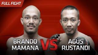 [HD] Brando Mamana vs Agus Rustandi || One Pride Pro Never Quit #28