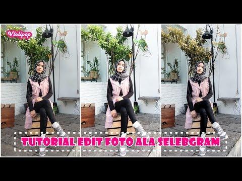 Tutorial Edit Foto Ala Selebgram Pakai 1 Aplikasi Florence Octavia
