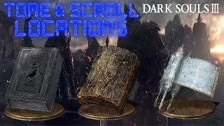 Dark Souls 3 - All Scroll and Tome Locations