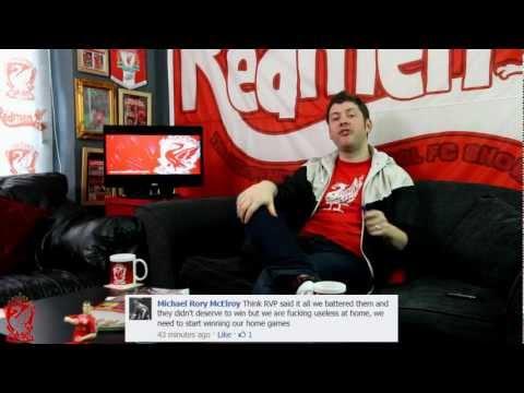 Liverpool 1-2 Arsenal : Van Persie Double Sinks The Reds (3/3/12)