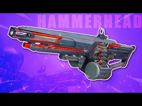 Destiny 2 |  The HAMMERHEAD Black Armory LMG! thumbnail
