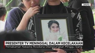 Presenter TV Natasha Rosdiana Meninggal Kecelakaan Dimakamkan
