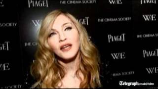 Madonna admits to picking up film tips from relationships at W.E screening in New York