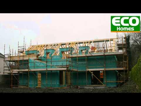 ECO Homes – Passivhaus time lapse – Cork, Ireland