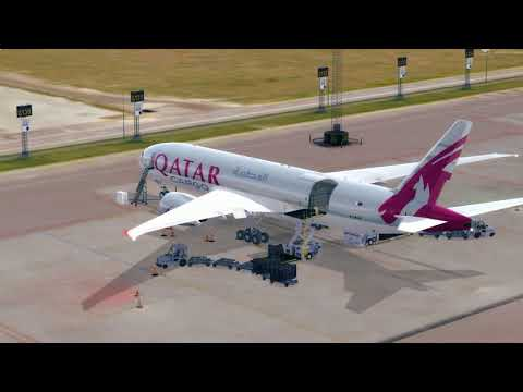 [PREPAR3Dv3] Flight Boeing 777F QATAR AIR CARGO - EKCH (Copenhagen) - EPML (Mielec)