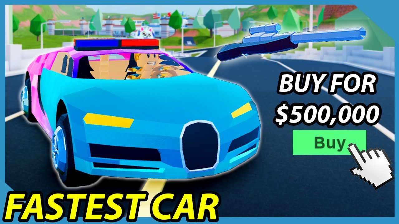 Buying The Bugatti Chiron In Roblox Jailbreak One Of The Fastest