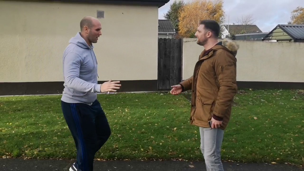 When Irish people meet eachother on the street... - YouTube