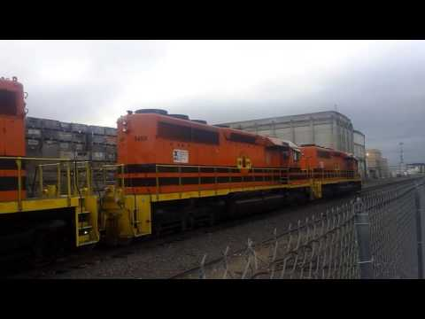 Central Oregon and Pacific Railroad Train in Medford, Oregon