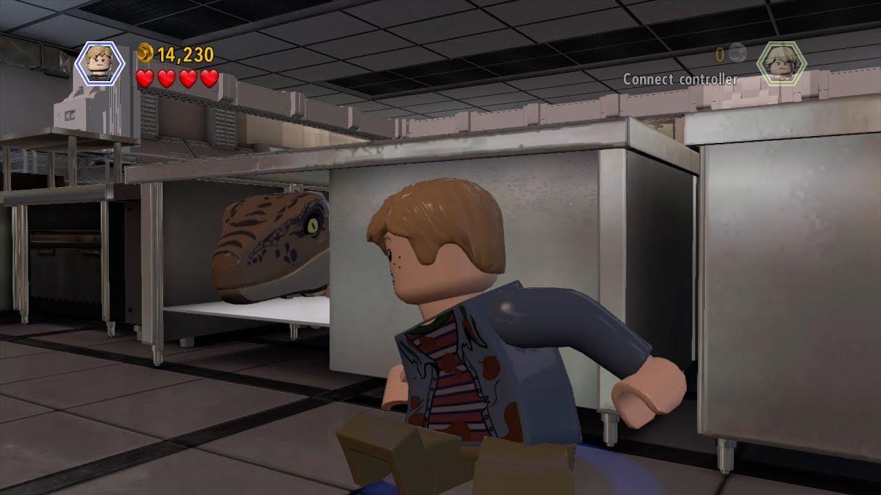 LEGO Jurassic World - Kitchen Escape - Free Play (1080p60HD)