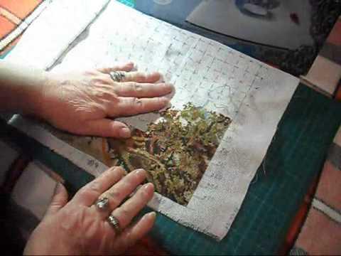 Вышивка крестом процесс фото
