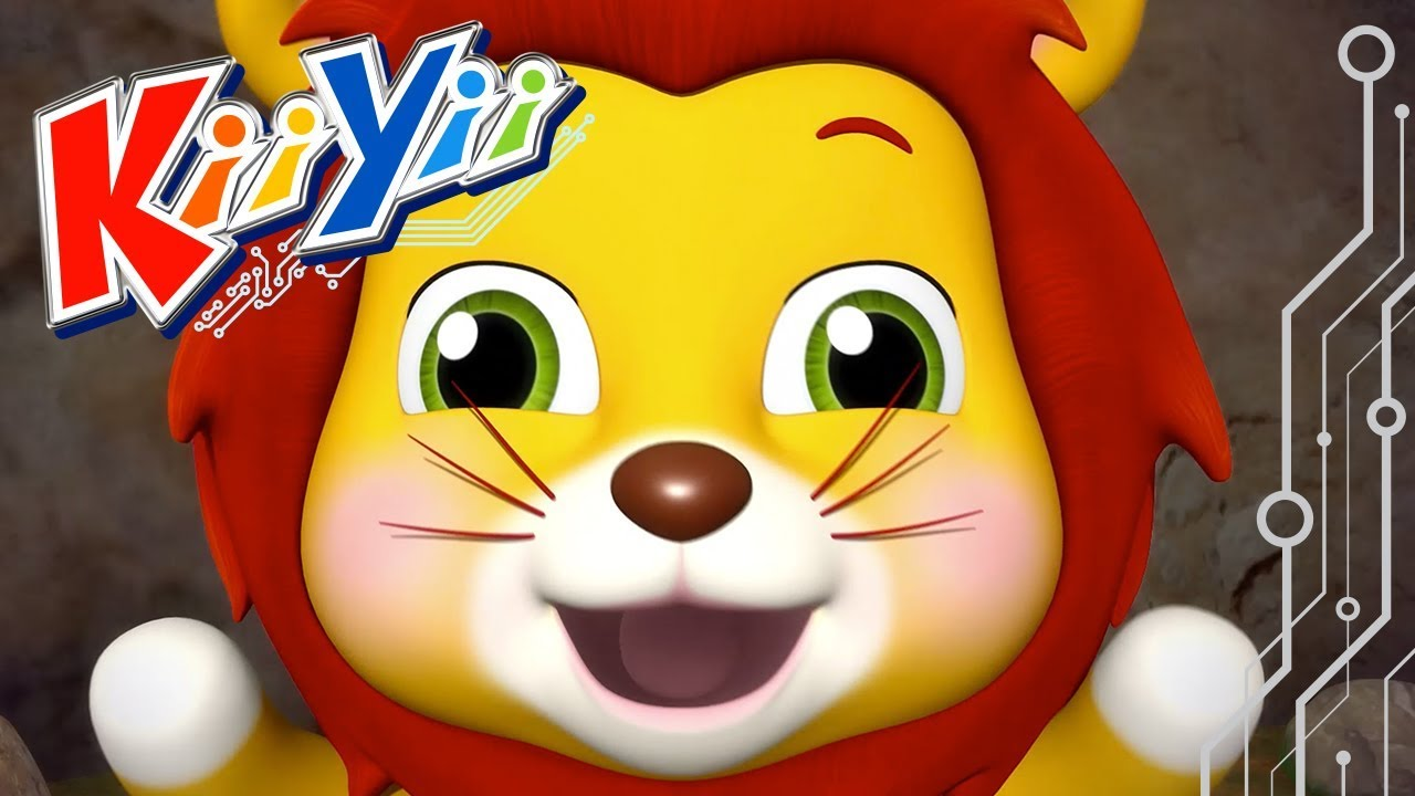 Going On A Lion Hunt | Nursery Rhymes | By KiiYii! | ABCs and 123s