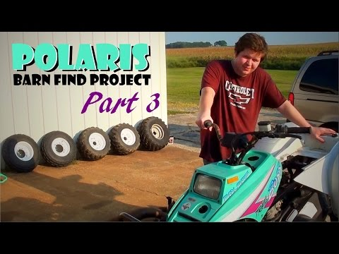 Barn Find Polaris Project - Part 3 - Machining the Head & New Plastics