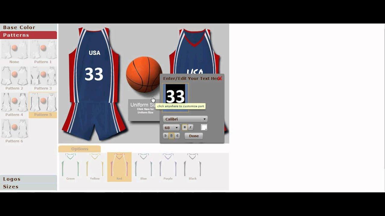 Shirt design maker app - Uniform Builder Configurator Designed By Doogma
