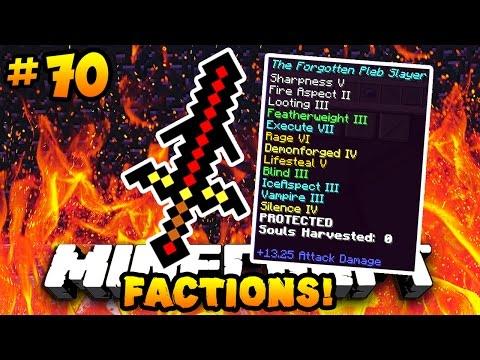 "Minecraft FACTIONS VERSUS ""GOD SWORD UPGRADE!!"" #70 | w/ PrestonPlayz"