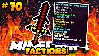 "Minecraft FACTIONS VERSUS ""GOD SWORD UPGRADE!!"" #70 
