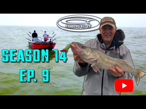 Trolling Mag Lip Crankbaits For Erie Walleye