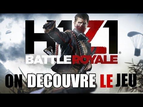 [FR] LIVE H1Z1 PS4 l ON DÉCOUVRE LE JEU AVEC MANGAS