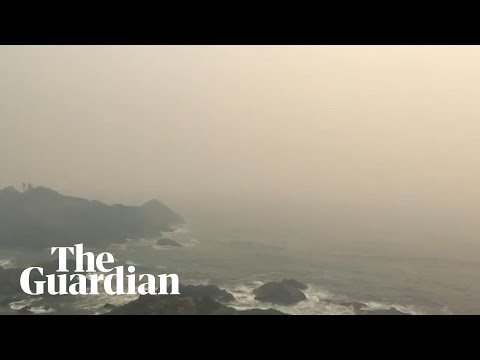 Bushfires Leave Thick, Smoky Haze Across Australia's East Coat