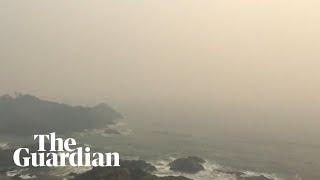 Bushfires Leave Thick, Smoky Haze Across Australia's East Coat