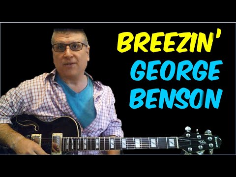 Breezin' by George Benson Guitar Lesson (Solo with TAB)