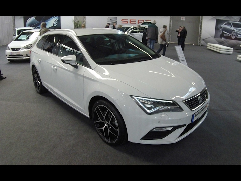 SEAT LEON ST FR LINE !! FACELIFT 2017 !! NEVADA WHITE !! WALKAROUND AND INTERIOR !!