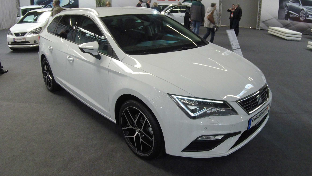 foto de SEAT LEON ST FR LINE FACELIFT 2017 NEVADA WHITE WALKAROUND AND INTERIOR YouTube
